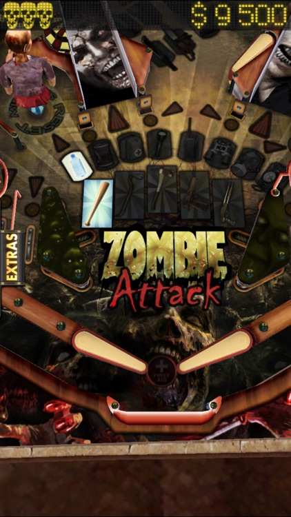 Zombie Attack Pinball HD: Monster Challenge screenshot-3