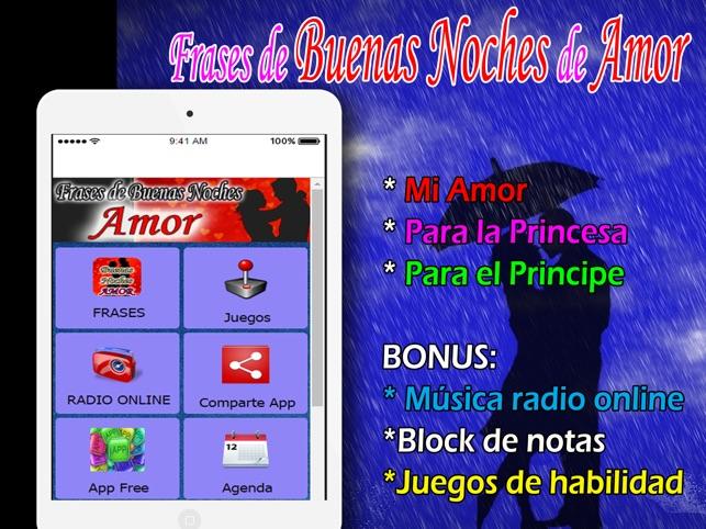 App Store Frases De Buenas Noches De Amor