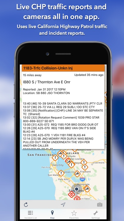 California Roads - CHP Traffic Reports & Cameras screenshot-0