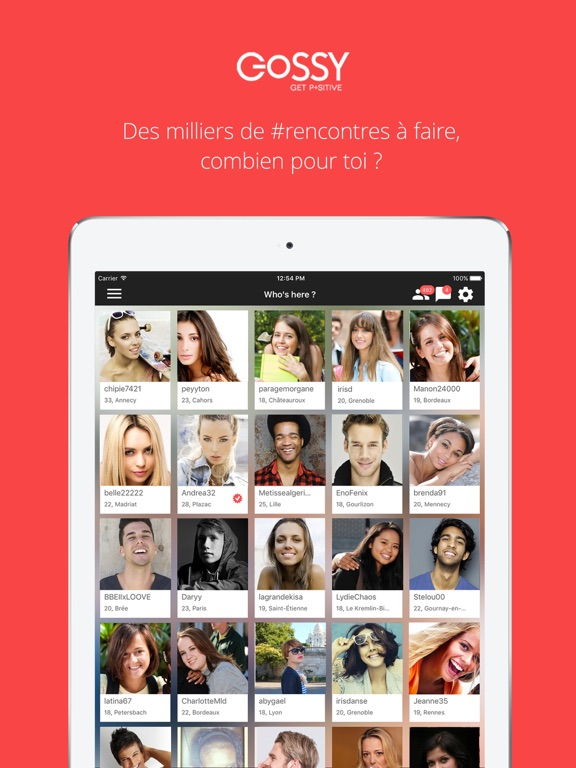 Gossy tchat and rencontre