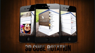 3d Facecube For Facebook review screenshots