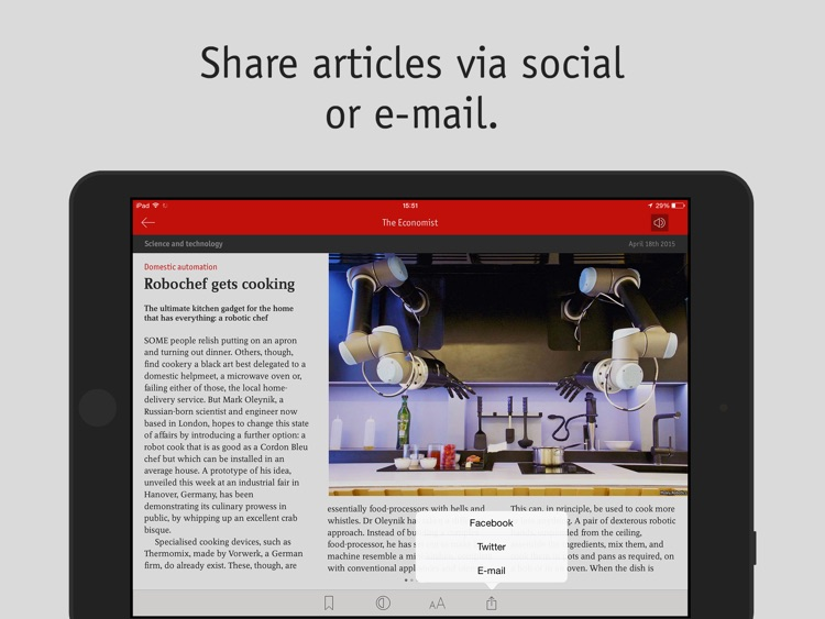 The Economist: News on Politics, Business, Finance screenshot-3