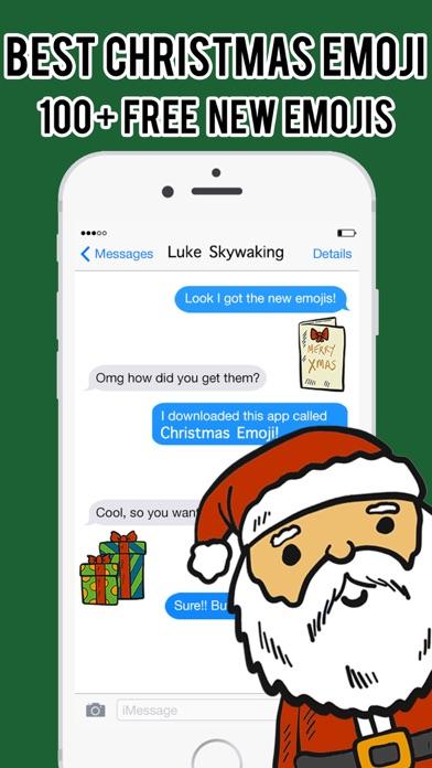 Christmas Emoji - Stickers Messenger Keyboard Pro