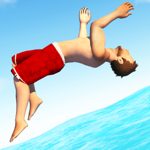 Flip Diving Games app