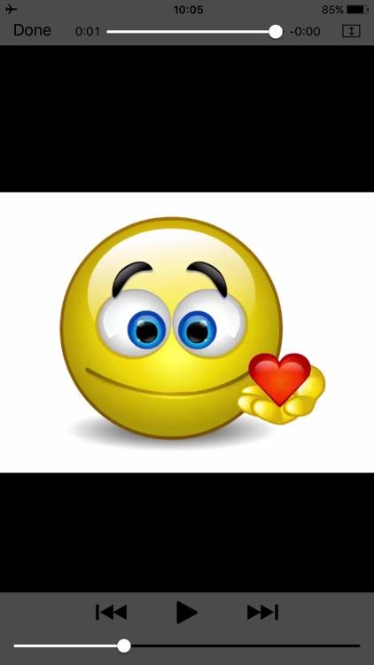 Talking Emojis & Speaking Emoticons for Texting screenshot-4