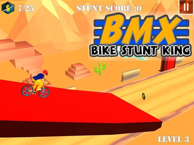 BMX Bike Stunt Race, game for IOS