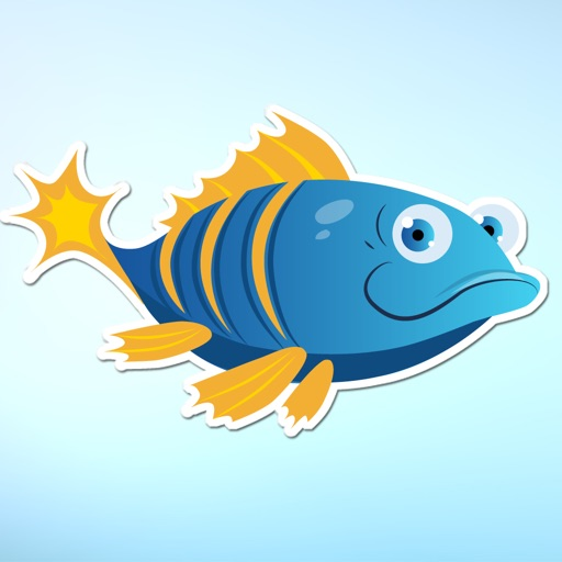 Funny Fish and Sea Life Sticker Pack