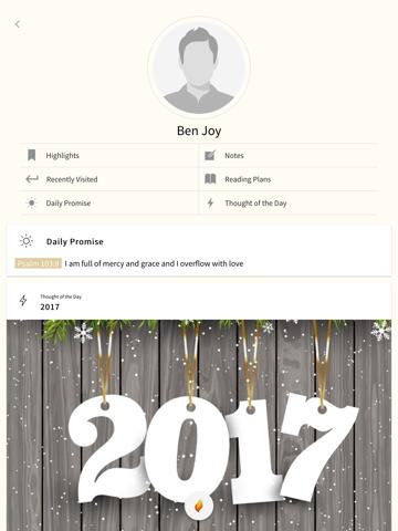 MyBible app - náhled