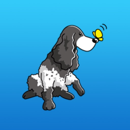 English Cocker Spaniel A Good-Natured Dogs Sticker