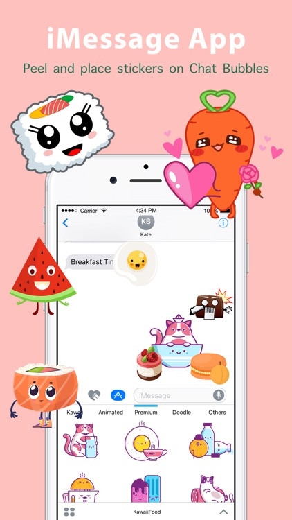 Kawaii Food Sticker screenshot-1