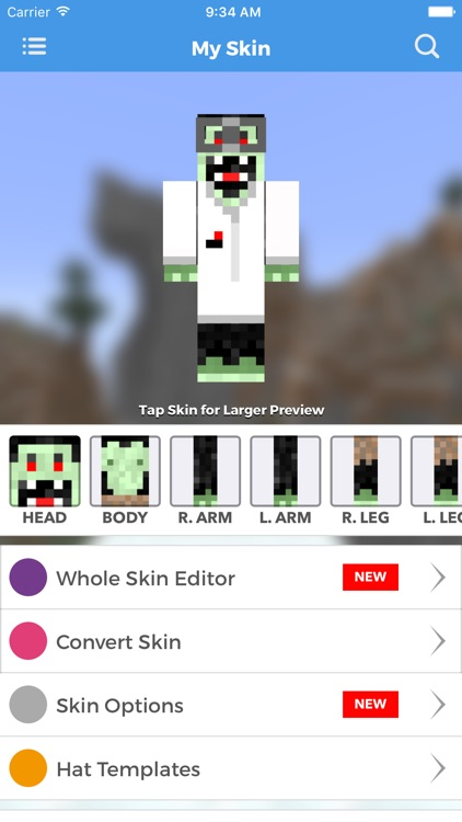 Skins Pro Creator for Minecraft screenshot-3