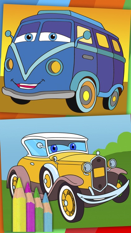 Cars coloring pages for kids – Pro screenshot-4