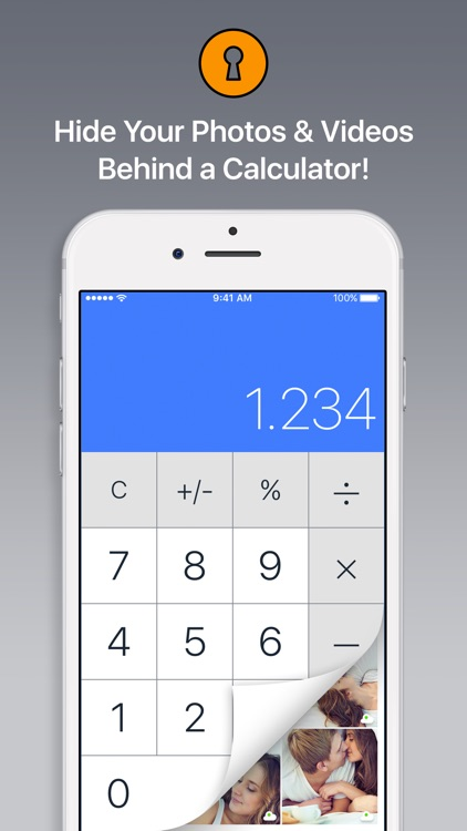 Secret Calculator Vault - Keep Private Photo Safe