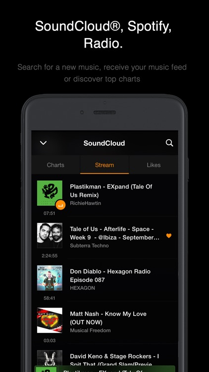 VOX: FLAC Music Player with MP3 & Equalizer screenshot-3