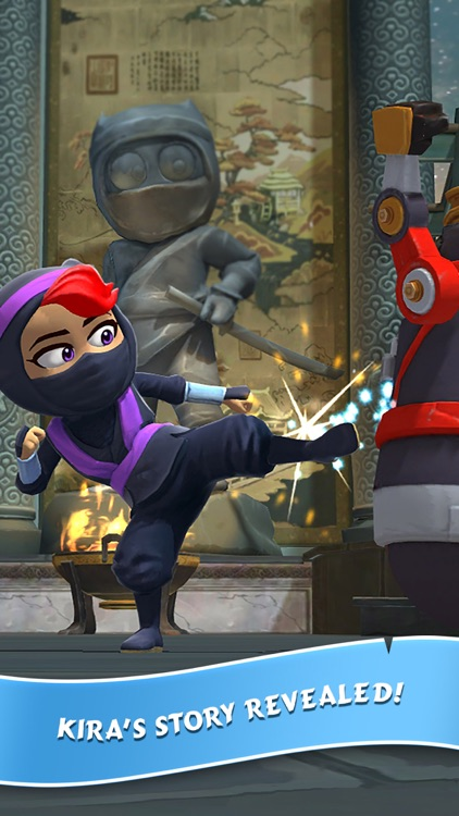 Clumsy Ninja screenshot-4