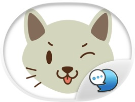Smiley Cat Feeling Ver.3 Stickers for iMessage