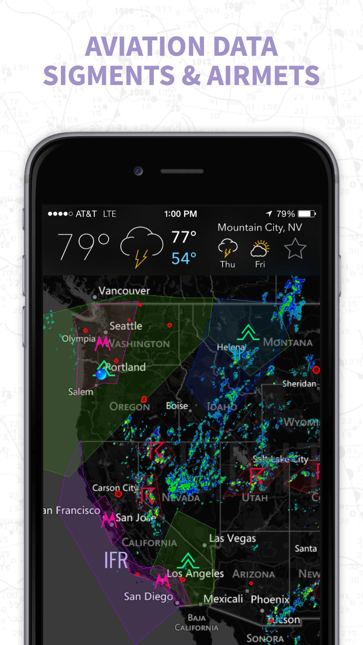 MyRadar NOAA Weather Radar, Forecasts & Storms Screenshot