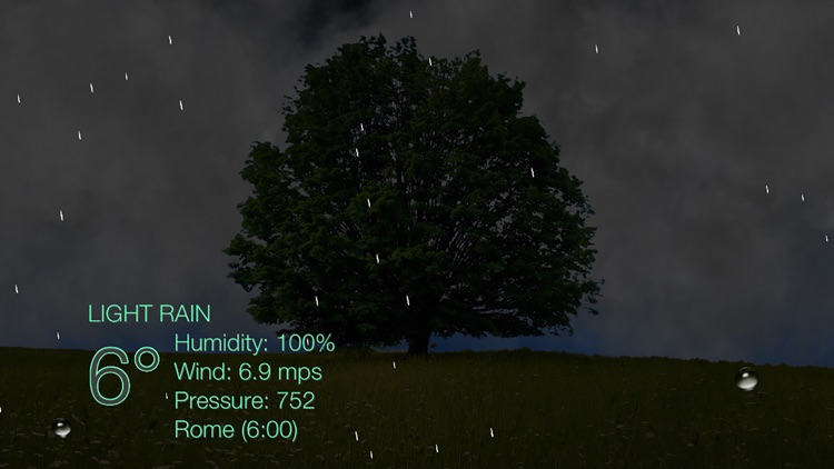 Nature Live Weather LITE screenshot-4
