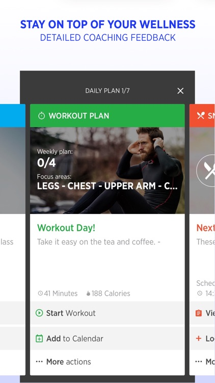 FitWell - Personal Fitness & Nutrition Coach screenshot-1