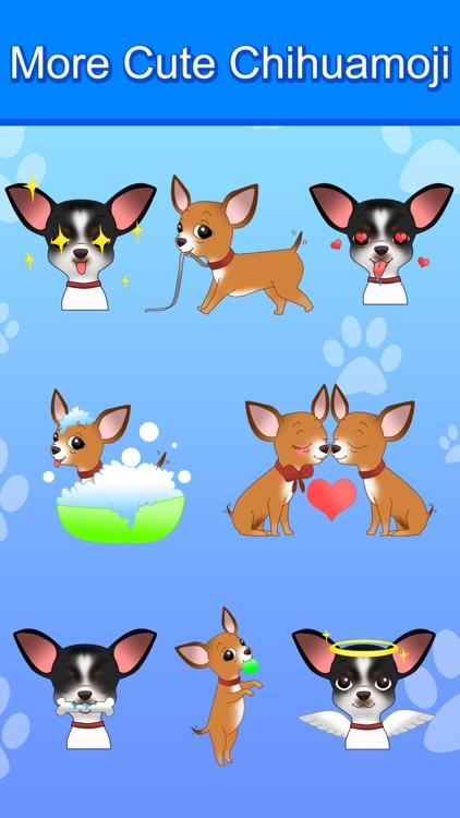 ChihuaMoji - Stickers & Keyboard for Chihuahuas screenshot-3