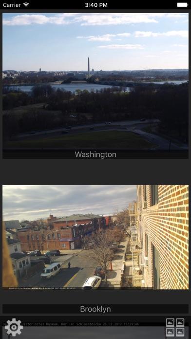 Webcams Lite - deine Kameras im BlickScreenshot von 2