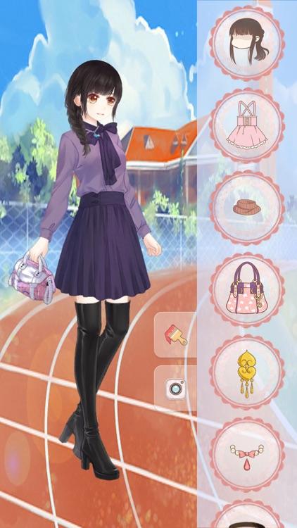 Dressup! Cute Girl - Makeup plus Girly Games screenshot-4