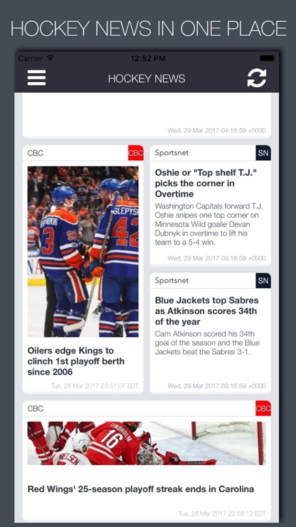 Live Hockey News & Predictions