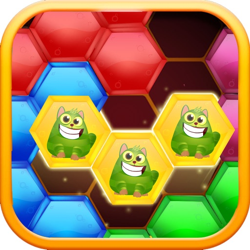 Block Cat - Hexic Puzzle application logo