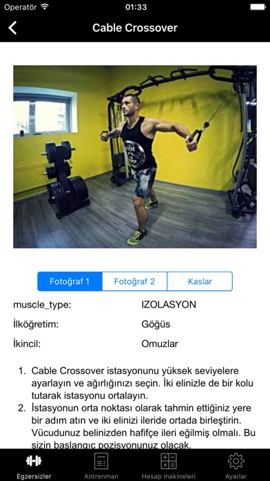 Screenshot for Gym Guide Pro workouts and exercises for fitness in Turkey App Store