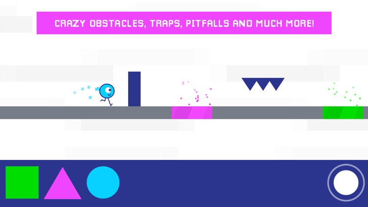 STC - Square Triangle Circle fast-paced platformer screenshot-3