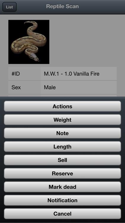 Reptile Scan screenshot-4
