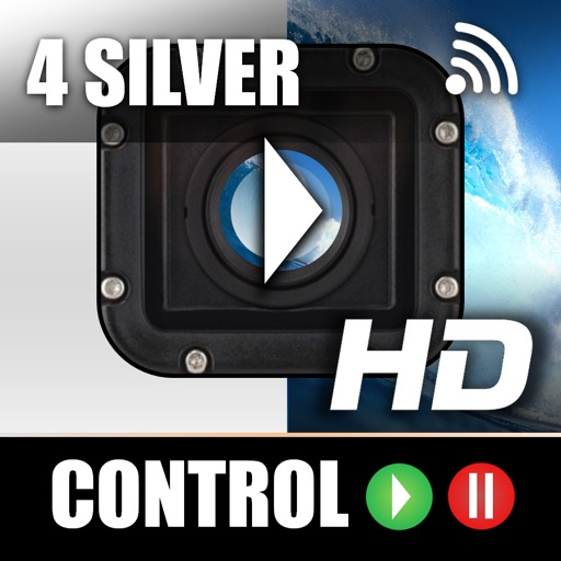 Remote Control for GoPro Hero 4 Silver iOS App