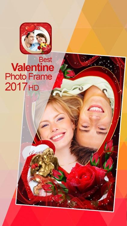 Valentine's Day Love Cards - Romantic Photo Frame