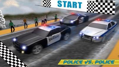 警察追逐山汽车3D:警察自动赛车司机 App 截图