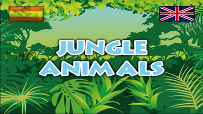Jungle animals name and sound · Kids Learning screenshot one