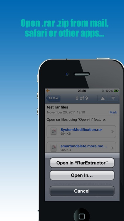 RarExtractor - Extract RAR, Zip files...