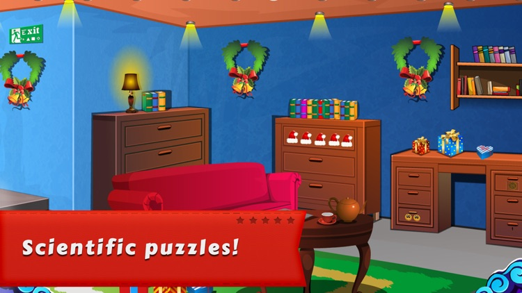 Cube Escape:AROMA - Finding Christmas Gift screenshot-4