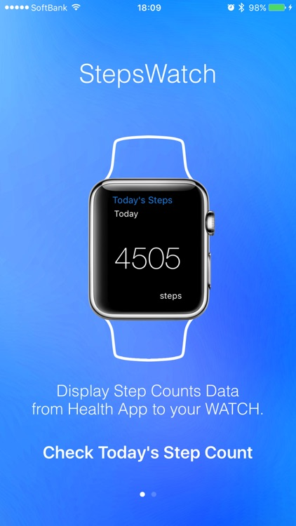 StepsWatch  - Today's Step Count for Watch