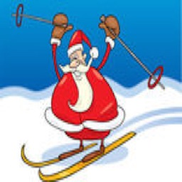 Skiing Santa - Addictive Fun Game