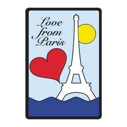 Yazbukey Love Paris by Stickapax™