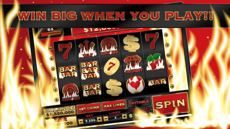 Burning Hot Inferno - Vegas Casino Slot Machine