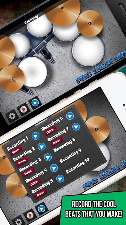 Pro Drum Set - Music and Beats Maker screenshot-3