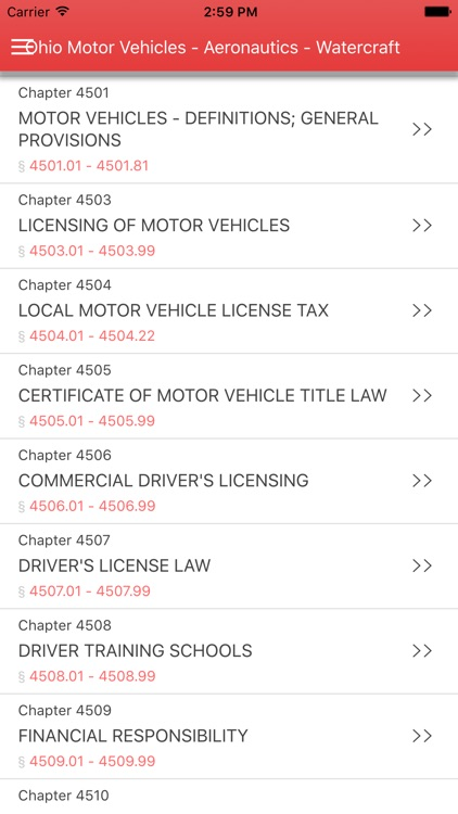 Ohio Motor Vehicles