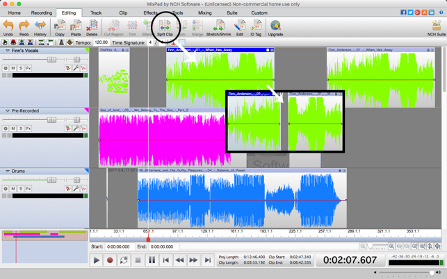MixPad Multitrack Recorder Free on the Mac App Store
