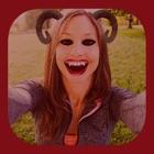 Halloween, vampires et démons autocollants icon