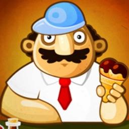 回转冰淇淋店 - 策略经营游戏