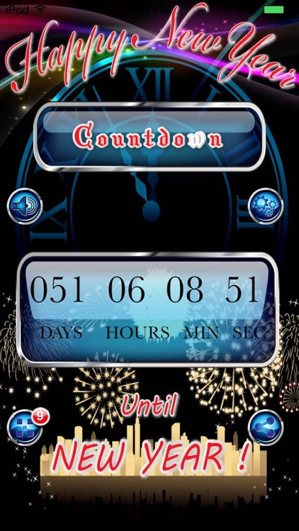 Happy New Year Countdown Begins Pro screenshot-3