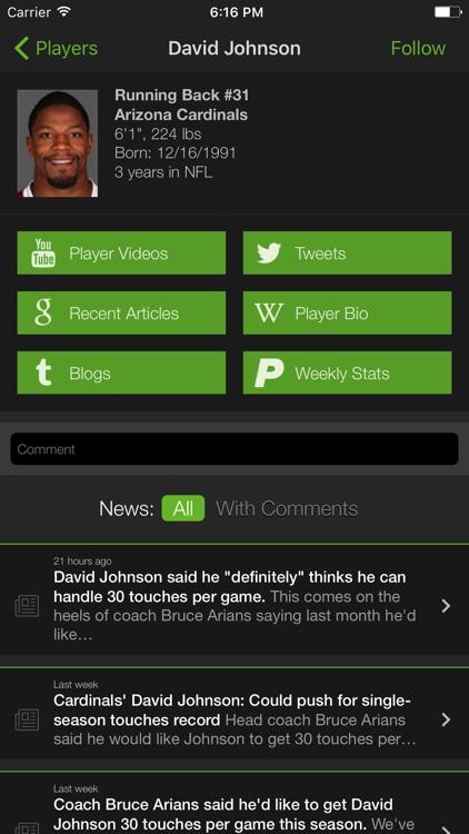 Playerline Fantasy Sports News