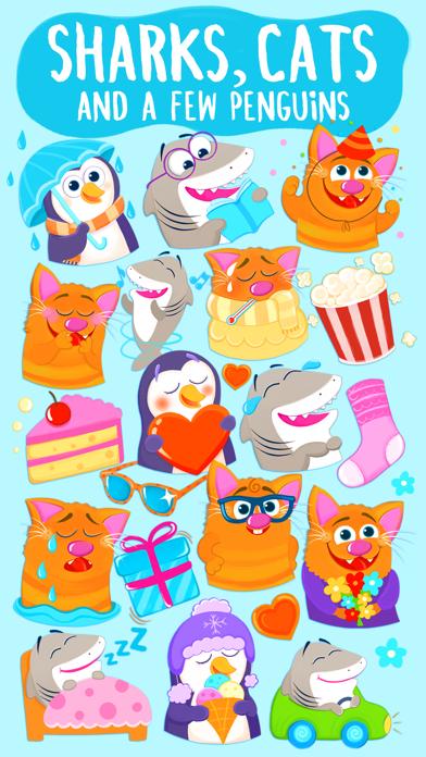 Screenshot #1 pour Nice Requin! Bon Chat et Pingouin De Kitty Aussi!