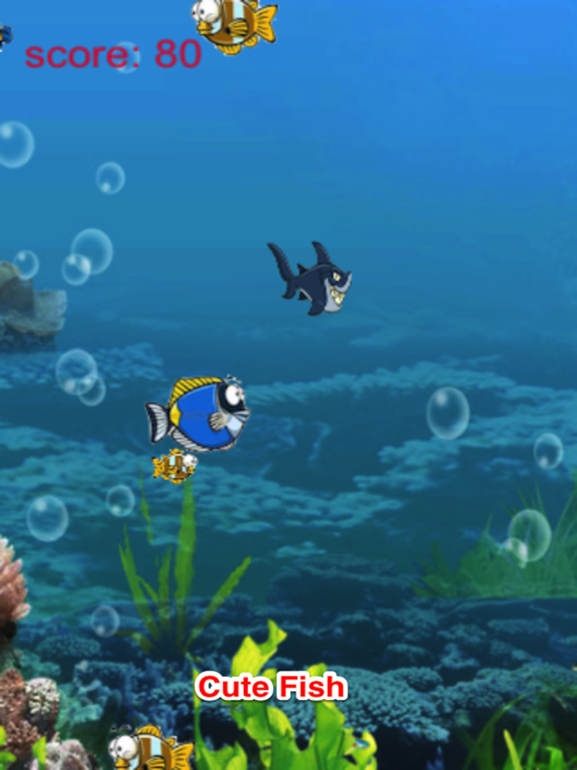 Big Shark Eat Little Fish, game for IOS